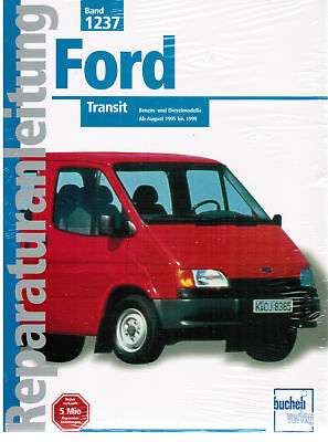 Libro Manual de reparaciones Ford Transit Agosto 1995 - 1999,Band 1237