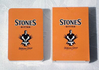 STONES BITTER PLAYING CARDS – Sealed Pack