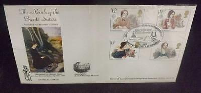 1980 Bronte Authoresses GB First Day Cover Benham better Haworth Postmark FDC41