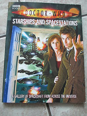 Doctor Who Starships and Spacestations Paperback Book