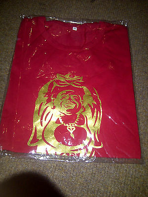 Fat Buddha Beer T-Shirt Size Small Red