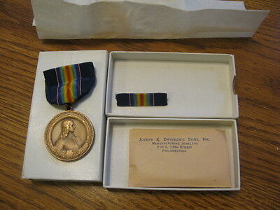 RARE  ORIGINAL  WW1   US PA NG 28th Division Medal ,UNUSED,still in the Box !!