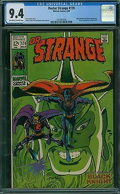 Doctor Strange 178 CGC 9.4 - OW/W Pages
