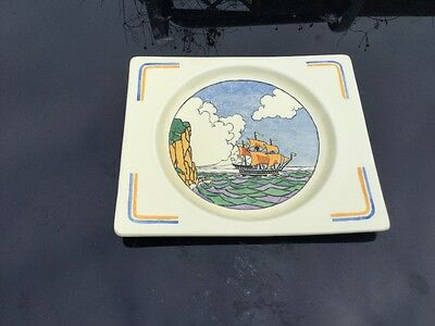 Royal Staffordshire Plate.   BIARRITZ