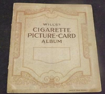 W.D & H.O Wills 1938 Garden Hints Cigarette Cards 49/50 cards mounted Album C126