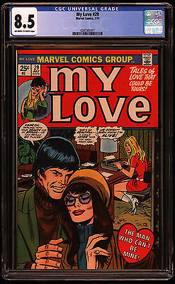 My Love #29 CGC 8.5 OW/W 2nd highest graded!