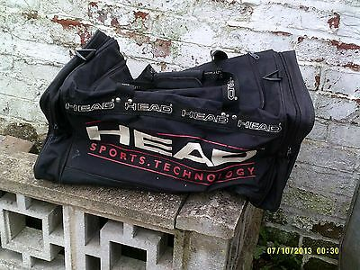 """head sports bag approx 25"""" long 12"""" square"""
