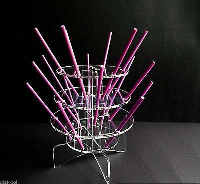 3-Tier Cake Pop Lollipop Cupcake Display Stand Tower Holder 18 pops