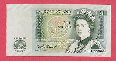 1981/84 Great Britian 1 Pound Note Unc