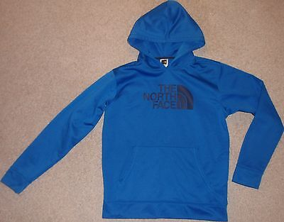 Youth Boys XL X-Large 18-20 The North Face Blue Hoodie Sweatshirt Pullover