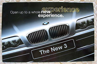 Bmw Official 3 Series Sedan Introductory Sales Brochure 1999 Usa Edition