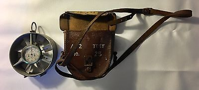 WW2 ANEMOMETER WIND SPEED TEST DEVICE AA2 No. 25 WITH LEATHER POUCH WORLD WAR 2