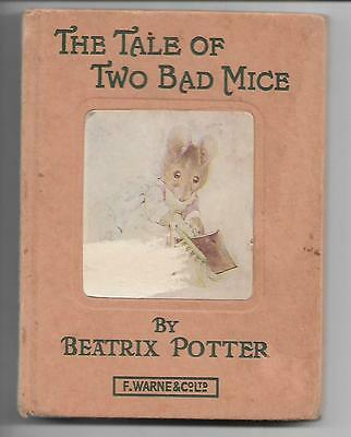 The Tale of Two Bad Mice by Beatrix Potter c1965 illustrated childrens story £1