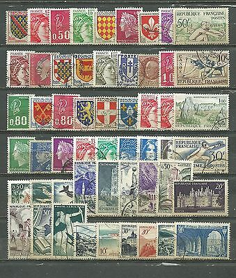 France, 56 Various, Used