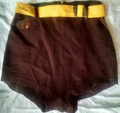 Vintage wool swim trunks suit mens Malibu