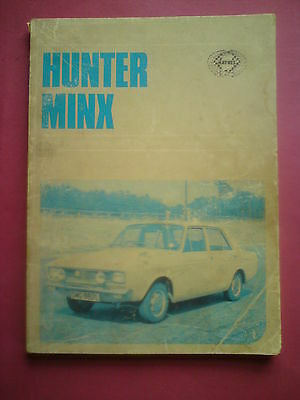 haynes hunter minx maintenance hand book