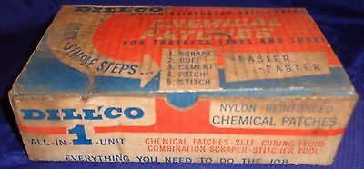 RF2365 Vtg Dill Mfg Co Toronto ON Dillco Chemical Tire Patches Kit Box Full