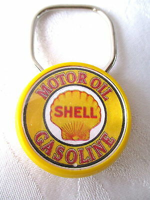 **Vintage SHELL OIL COMPANY KEY CHAIN - Exc Condition**