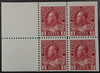#109a MNH OG Booklet Pane Of 4, Admiral Series