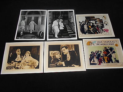 Mae Murray 6 Ad Art And Publicity Photos Silent Movies Delicious Little Devil
