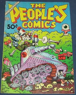 The People's Comics  1st Printing  1972  All R. Crumb
