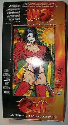 1995 Comic Images Shi All-Chromium empty box only