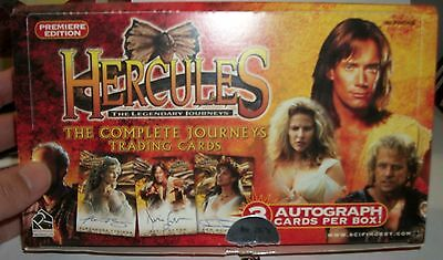 2001 Rittenhouse Archives Hercules: The Complete Journeys Premier empty box only