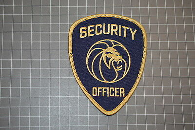MGM Grand Las Vegas Security Officer Patch (B11)