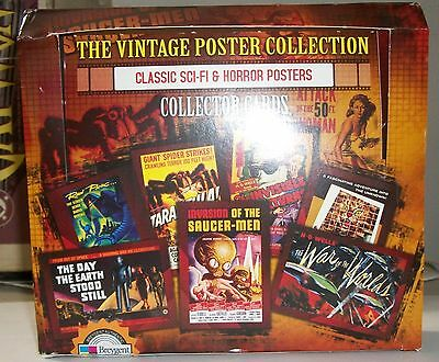 2007 Breygent The Vintage Poster Collection: Classic Sci-Fi & Horror Posters box