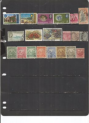 Barbados 20 Used   Stamps.  Nice.   See Scan
