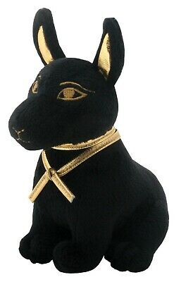 "6.25""h Egift Egyptian God of Afterlife & Death Anubis Dog Soft Toy Plush Doll"