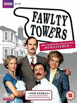 Fawlty Towers - The Complete Collection (Remastered) [DVD] [1975] - DVD  XEVG