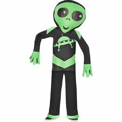 Big Head Alien Child Halloween Costume BRAND NEW BOYS SIZE MEDIUM SIZE 8