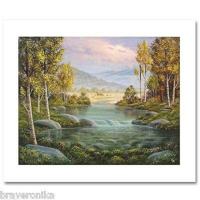 """Maurice Meyer """"aspen In The Fall"""" Limited Edition Hand-Signed Giclee/canvas. New"""