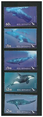 New Zealand Ross Dependency 2010 Whales Of Southern Ocean Mint Never Hinged