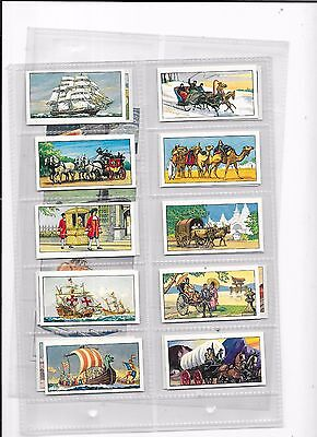 Ty-Phoo Tea Cards Travel Through The Ages Full Set Of 24 Cards