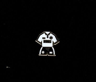 DERBY COUNTY Enamel Kit Pin Badge late1990's 'EDS' FREE POST UK