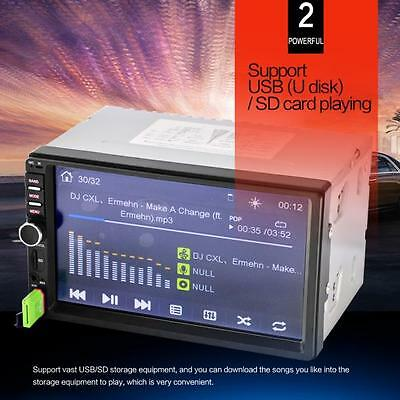Sale Car Stereo Audio In-Dash Aux Input Receiver SD/USB MP5 Player Bluetooth Hot