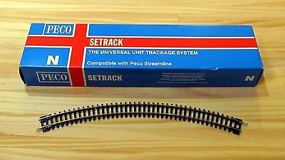 Peco ST-15 Setrack Curved No. 2 Radius Double Curve N Gauge