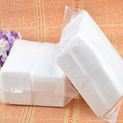 400Pcs Nail Polish Remover Cleaner Manicure Wipes Lint Free Cotton Pads Paper Na