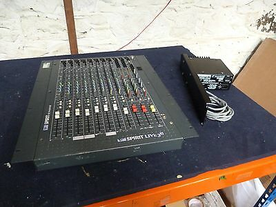 Spirit by Soundcraft Live Desk 8-3-2 with PSU DCP125 LAST ONE