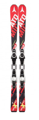 ATOMIC REDSTER FIBRE X SKIS 163cm NEW with LITHIUM 10 BINDINGS