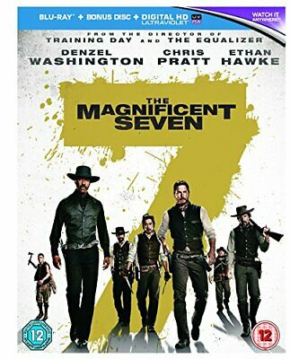 The Magnificent Seven [Blu-ray] [2016] [Region Free] - DVD  AAVG The Cheap Fast