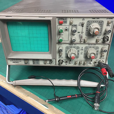 Hameg HM203-6 Oscilloscope Works fine COLLECT ONLY WIRRAL