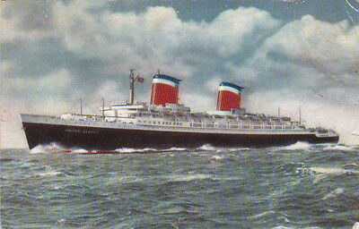 Sea Transport - The S.S. United States - (F618)