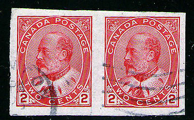 90a imperf pair used (#C174)