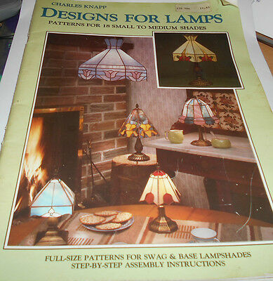 Designs for Tiffany Lamps. Charles Knapp