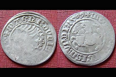Superb 1509 Hammered Silver Coin
