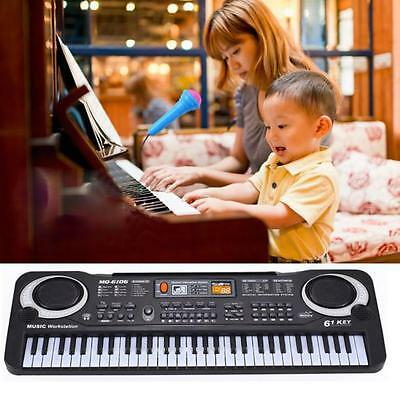 61 Keys Digital Music Electronic Keyboard BoardElectric Piano Talent Toy Gifts