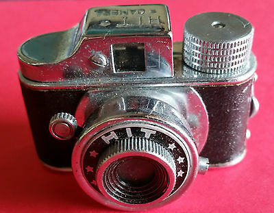 VINTAGE Japanese 1950s HIT Mini Spy Camera With leather case  & Instructions